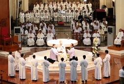 Thánh lễ Truyền chức Linh mục cho 9 phó tế (19.6.2020)